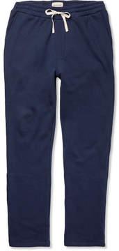 Oliver Spencer Loungewear Fleece-Back Cotton And Cashmere-Blend Jersey Sweatpants