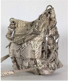 Cole Haan Snakeskin Beige Handbag