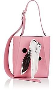 Calvin Klein Women's Ambulance Disaster Small Leather Bucket Bag