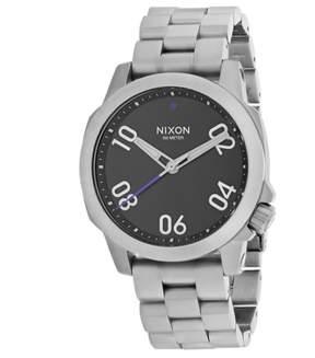 Nixon Ranger 40 Watch Black, One Size