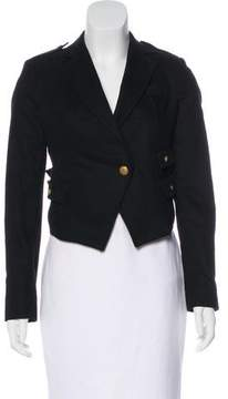 Boy By Band Of Outsiders Notch-Lapel Button-Up Blazer