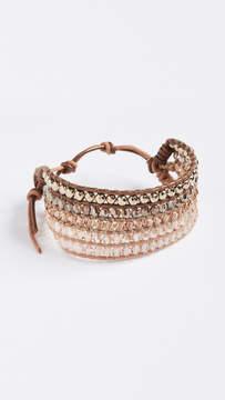 Chan Luu Stone Mix Wrap Bracelet