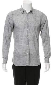 Calvin Klein Collection Printed Button-Up Shirt