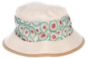 Hermes Linen Blend Bucket Hat