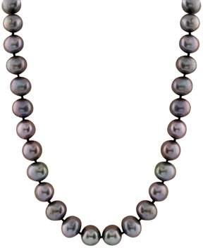 Bella Pearl Black Freshwater Pearl Single Strand Necklace