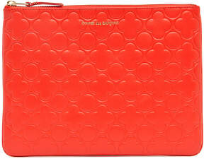 Comme des Garcons Clover Embossed Pouch