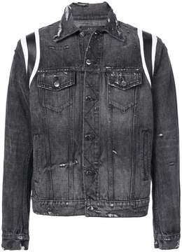 Amiri washed denim jacket