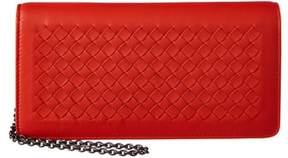 Bottega Veneta Intrecciato Nappa Leather Continental Wallet On Chain.