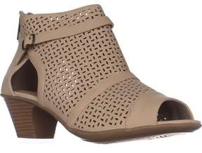 Easy Street Shoes Carrigan Peep Toe Sandals, Sand.