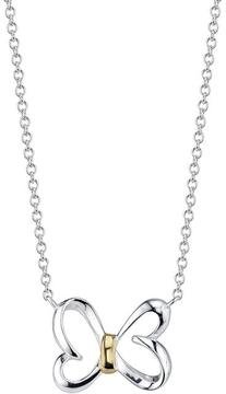 Disney Two-Tone 10K Gold and Sterling Silver He Loves Me Necklace