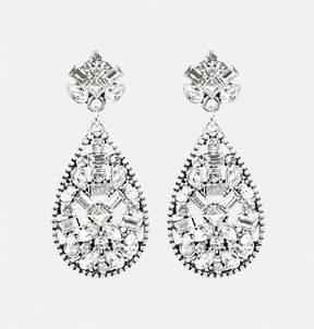 Avenue Crystal Teardrop Earrings