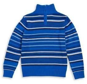 Calvin Klein Jeans Boy's Cotton Half-Zip Sweater
