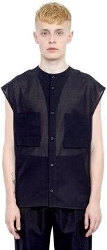 Alexandre Plokhov Cotton Gauze Sleeveless Shirt