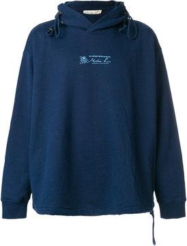 Martine Rose logo hoodie