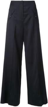 Esteban Cortazar low waist straight trousers