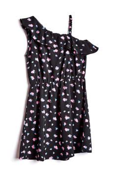 GUESS One-Shoulder Dress (7-16)