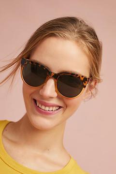 Anthropologie Bondi Round Sunglasses