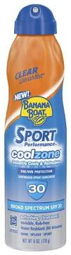 Banana Boat Sport Performance Coolzone - SPF 30 - 6oz