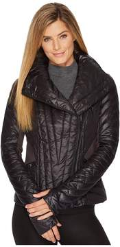 Blanc Noir Motion Panel Puffer Jacket Women's Coat