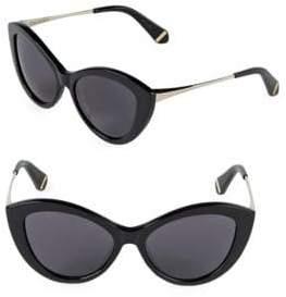 Zac Posen Shelley 53MM Butterfly Sunglasses