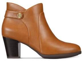 Giani Bernini Womens Abalina Almond Toe Ankle Fashion Boots.