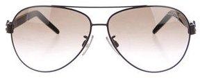 Roberto Cavalli Gradient Aviator Sunglasses