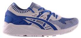Asics Men's Blue Fabric Sneakers.