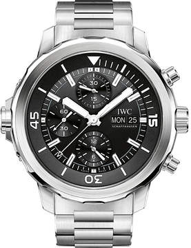 IWC IW376804 Aquatimer stainless steel automatic watch