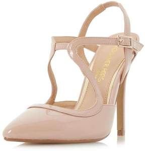 Head Over Heels *Head Over Heels By Dune Nude 'Caira' High Heel Shoes