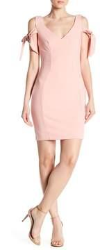 Alexia Admor Tie Sleeve Bodycon Dress