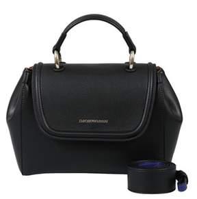 Emporio Armani Y3a088 Yh24a 82274 Black Satchel Handbag.