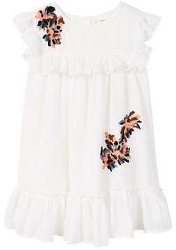 MANGO Frills embroidered dress