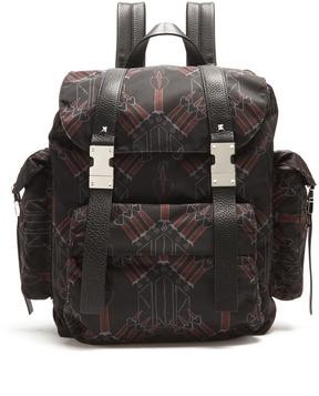 VALENTINO Love Blade nylon backpack