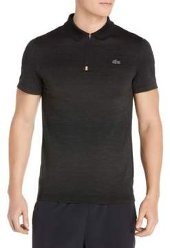 Lacoste Short-Sleeve Half-Zip Polo
