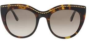 Juicy Couture Ju595/s 0086/ha Dark Havana Cat Eye Sunglasses.