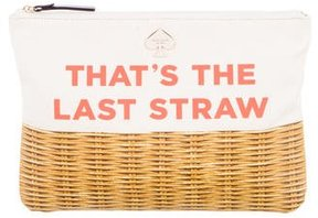 Kate Spade That's The Last Straw Gia Clutch - NEUTRALS - STYLE