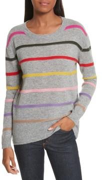 Allude Women's Stripe Cashmere Sweater