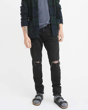 Abercrombie & Fitch Ripped Athletic Slim Jeans
