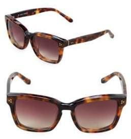 Linda Farrow 55MM Rectangle Sunglasses