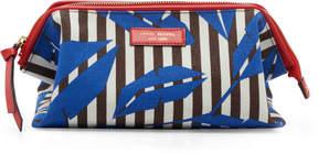 Henri Bendel Striped Canvas Large Dopp Kit