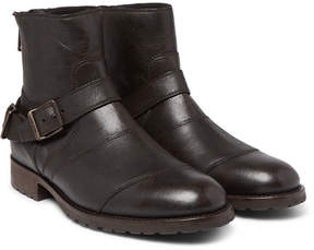 Belstaff Trialmaster Waxed-Leather Boots