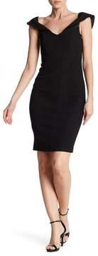 Bardot Eva Snake Off-the-Shoulder Dress