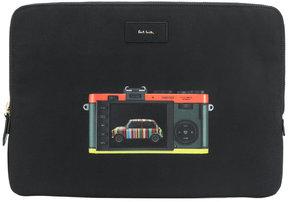 Paul Smith Leica Mini print laptop bag