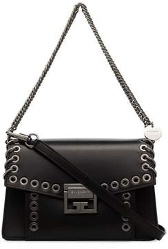 Givenchy black GV3 leather crossbody bag