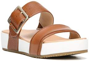 Dr. Scholl's Original Frill Leather Platform Sandal