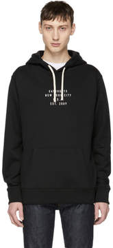 Saturdays NYC Black Logo Ditch Hoodie