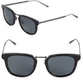 Bottega Veneta 49MM Square Sunglasses