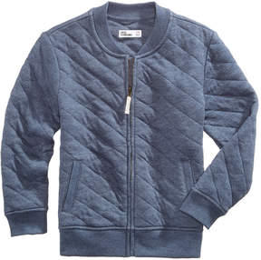 Epic Threads Quilted Full-Zip Bomber Sweatshirt, Toddler Boys (2T-5T), Created for Macy's