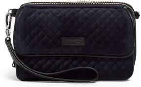 Vera Bradley Iconic RFID All in One Velvet Cross-Body Bag