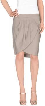 Compagnia Italiana Knee length skirts